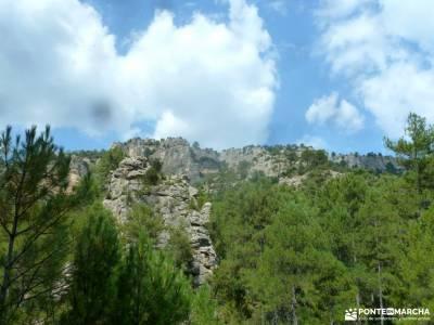 Río Escabas-Serranía Cuenca; excursiones en cazorla grupos actividades madrid cotos valdesqui